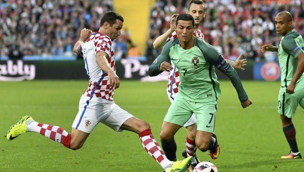 Portugal eliminó a Croacia sobre la hora y sigue adelante