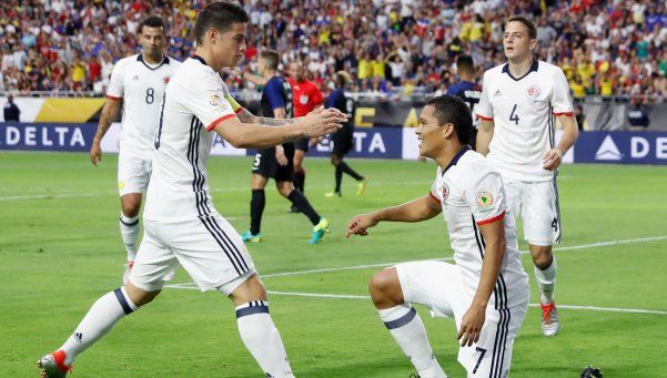 Colombia venció a Estados Unidos y se metió en el podio