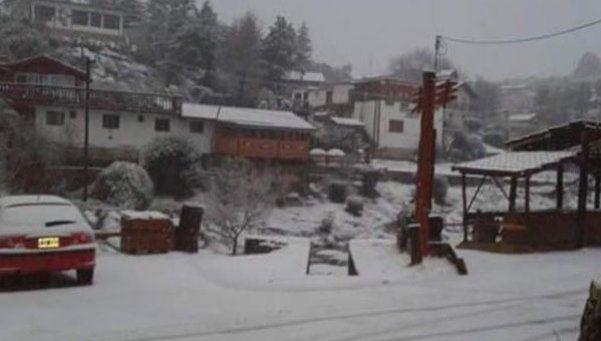 Por las nevadas, 36 personas tuvieron que ser rescatadas en Córdoba