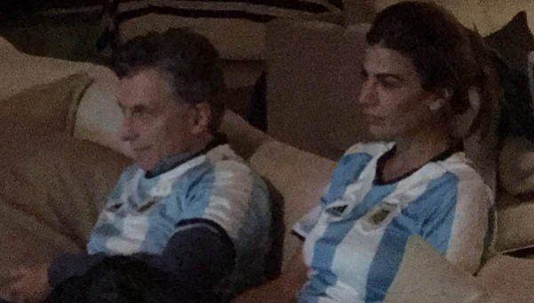 Así vivió Macri la final de la Copa América
