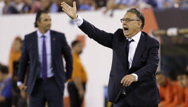 Martino, las dudas sobre su futuro y el gesto en la conferencia