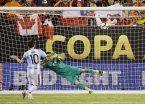 El penal errado, la última imagen de Messi con la camiseta argentina