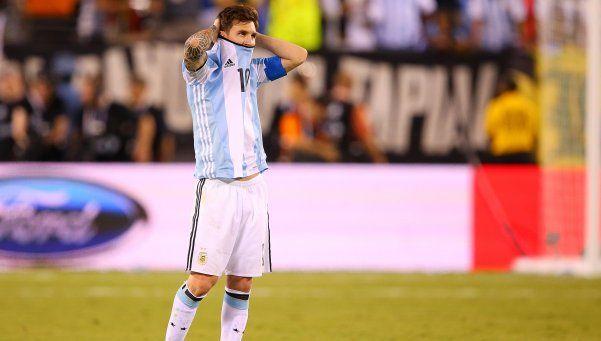 Video | El llanto desconsolado de Lionel Messi