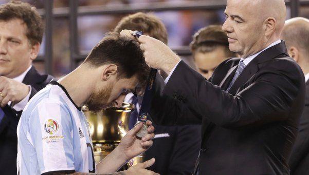 Cayó la Selección y cayó Messi