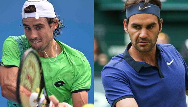 Pella perdió ante Federer y se despidió de Wimbledon
