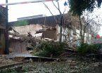 Explotó y se derrumbó un laboratorio en Rosario: hay 5 heridos