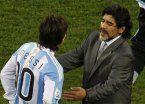 Maradona quiere convencer a Messi: Voy a luchar junto a él