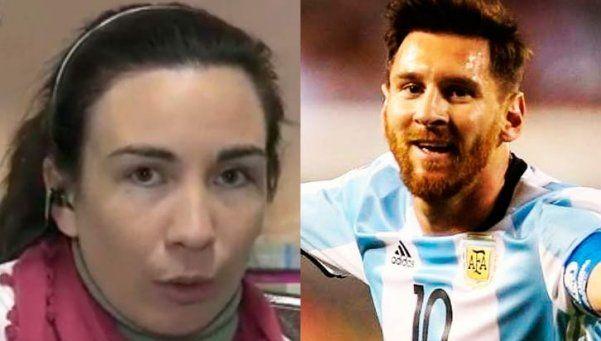 """La maestra que le escribió a Messi: """"Él es un ejemplo para los chicos"""""""