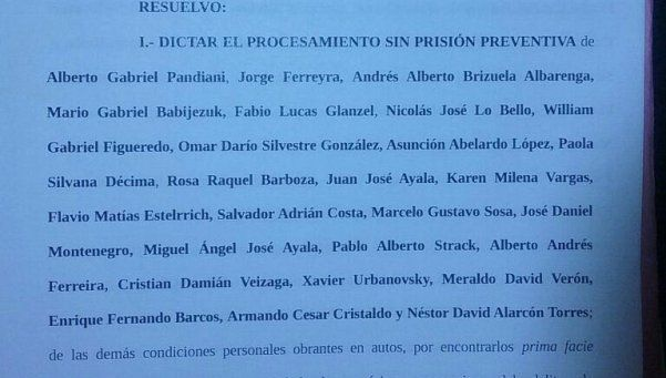 Time Warp | Casanello procesó a 26 prefectos