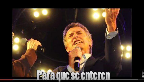 Macri tiene críticos en clave de humor y tono de murga