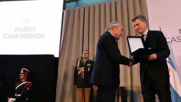 """Macri: """"Queremos representar los valores de don Arturo Illia"""""""