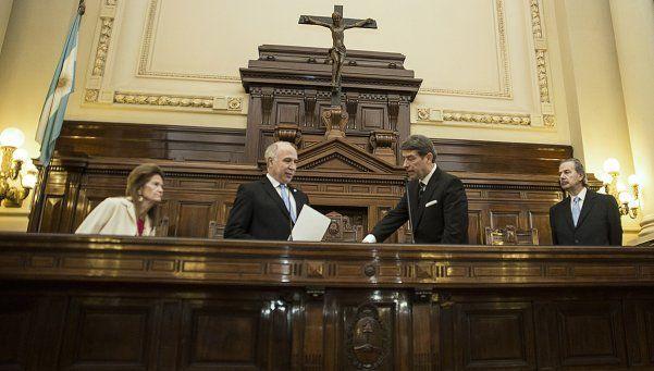 Juró Rosatti como juez de la Corte Suprema