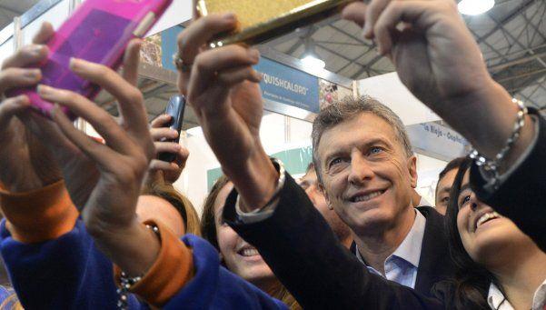 """Macri: """"Somos casi la única buena noticia que hay en el mundo"""""""