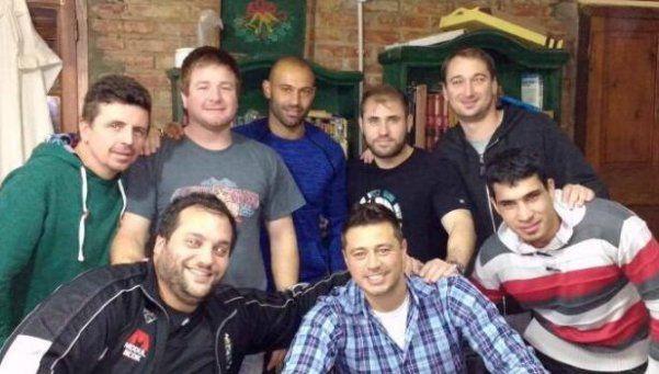 Mascherano descartó dejar la Selección en un asado con amigos