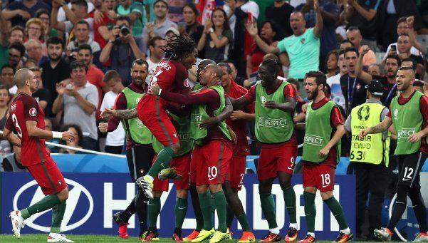Portugal eliminó a Polonia y está en semifinales