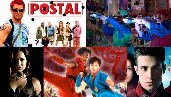 Las peores 5 películas basadas en videojuegos