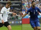 Alemania se enfrenta a Italia en una final adelantada