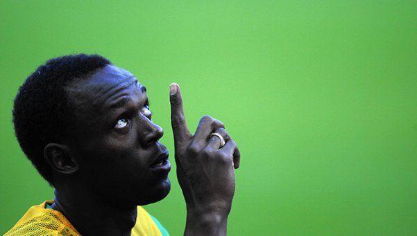 Bolt se desgarró a 35 días de los JJOO y encendió las alarmas