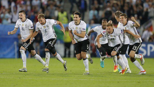 Alemania venció a Italia en los penales y está en semis de la Eurocopa