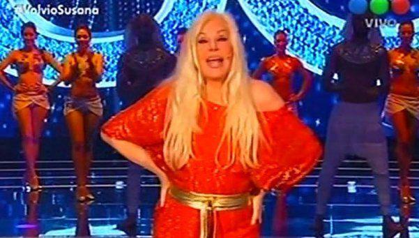 Susana dominó el rating en el domingo caliente de la TV