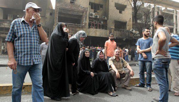 Aumenta a 200 la cifra de muertos en atentado de ISIS en Bagdad