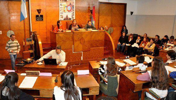 Alumnos de Lomas de Zamora fueron concejales por un día