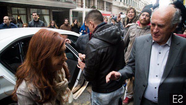 Cristina recibió a Carlotto y Bonafini y cargó contra el gobierno y sindicalistas