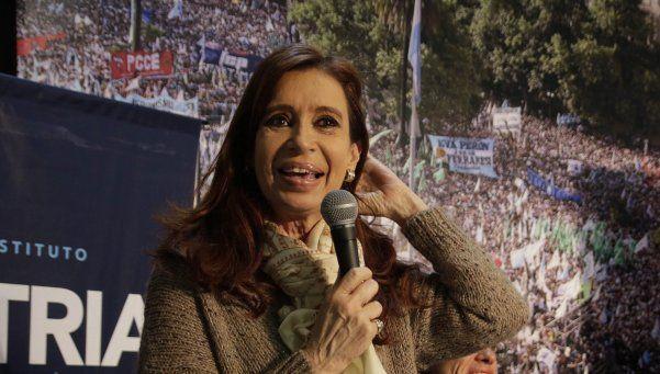 Cristina K y su particular relación con los periodistas
