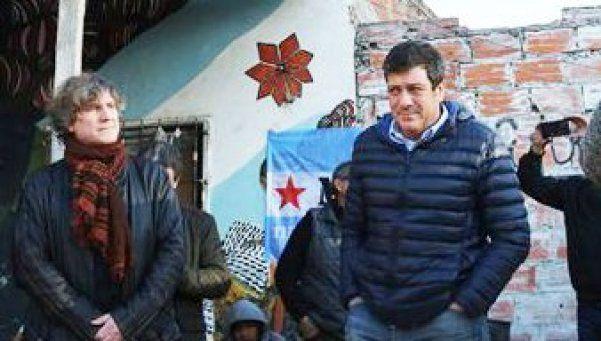 Mariotto y Boudou, presidente y vice del partido de D'Elía