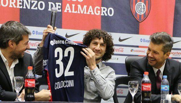 """Coloccini: """"Puedo volver al club del cual soy hincha"""""""