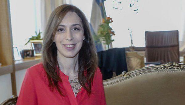 Maria Eugenia Vidal: La seguridad es la prioridad de los vecinos