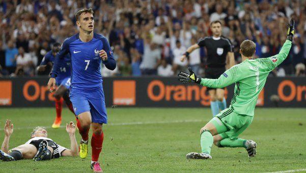 Francia derrotó a Alemania y es finalista de la Eurocopa