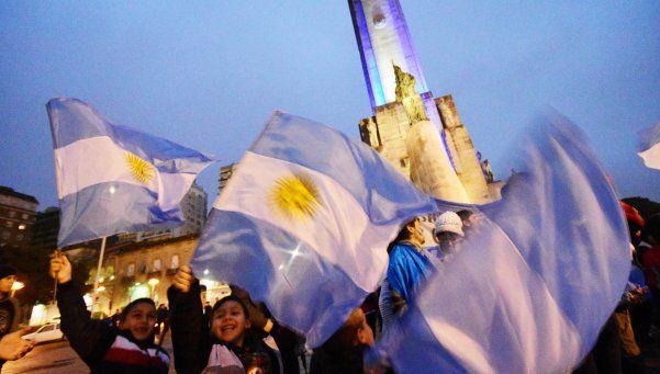 El 84% de la gente está orgullosa de ser argentina