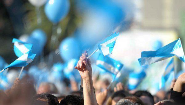 El Sur se visten de gala para festejar el Bicentenario de la Independencia