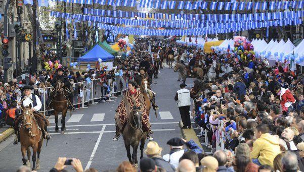 Los argentinos se reunieron para festejar el Bicentenario