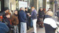 Abuelos no harán colas en bancos de Avellaneda