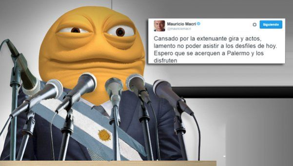 ¡Que pachorra no te agarre! Los memes sobre el faltazo de Macri