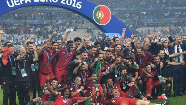 Sin Cristiano, Portugal bajó a Francia y es el campeón de la Euro
