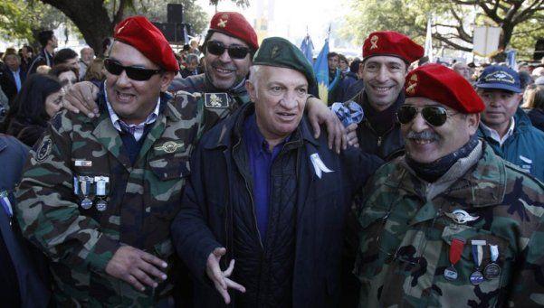 Aldo Rico redobló la apuesta el día después del polémico desfile