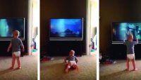 Bebé imita a Rocky Balboa y es furor en YouTube