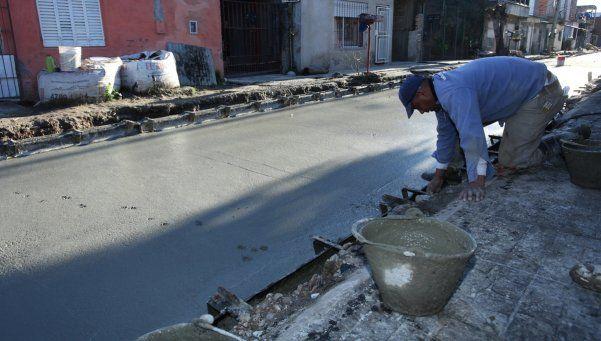 Avanza pavimentación en calles de tierra de San Martín
