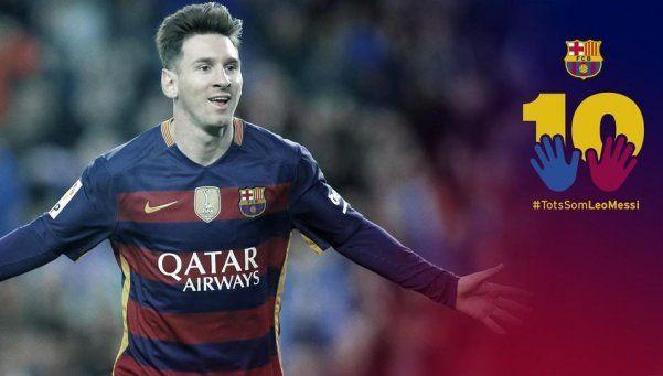 La polémica campaña del Barcelona para apoyar a Lionel Messi