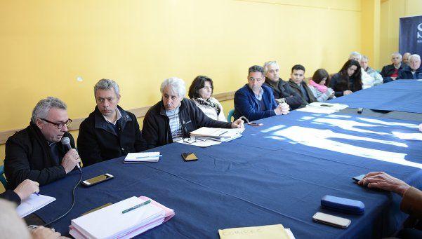 Reunión por el Plan Integral de Saneamiento del río Reconquista