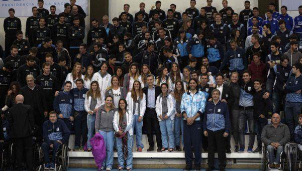 El saludo de Macri a los deportistas argentinos que competirán en los JJOO