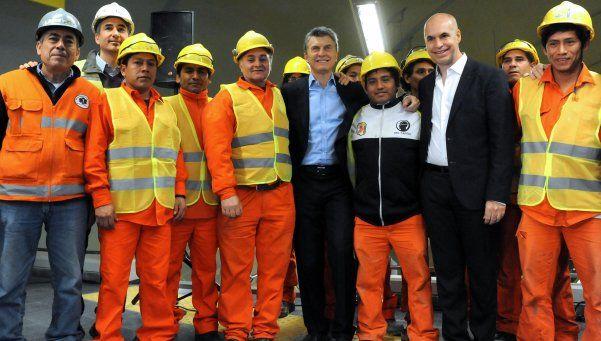 Macri, en inauguración en el subte: No tenemos suficiente energía