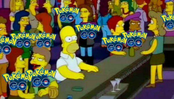 Pokémon Go Vs Los Simpsons: los 10 memes más divertidos
