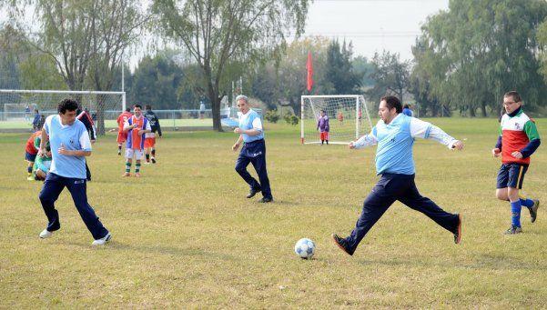 Comenzó otra edición de la Liga de Fútbol Inclusiva