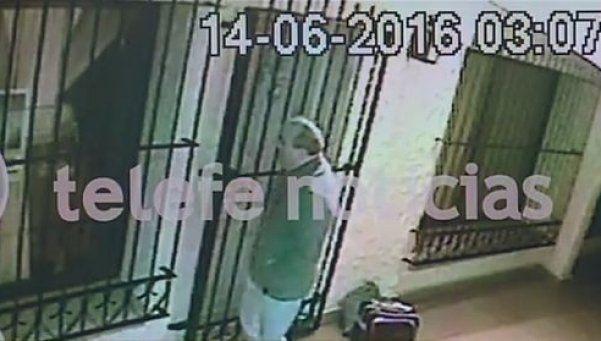 Video | Así, José López dejaba los bolsos con los millones en el convento