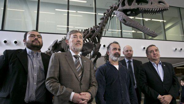 Presentaron a Gualicho, un nuevo dinosaurio