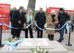 Tigre inauguró la nueva plazoleta 'Maestra Ofelia Ricchio'